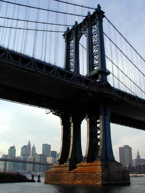Manhattan Bridge Wired New York
