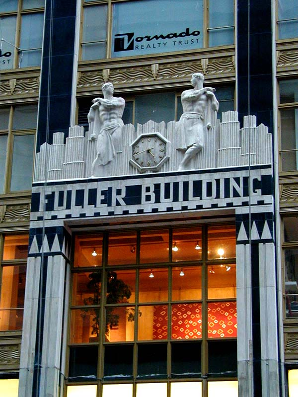 Glowing Glass For Fuller Building