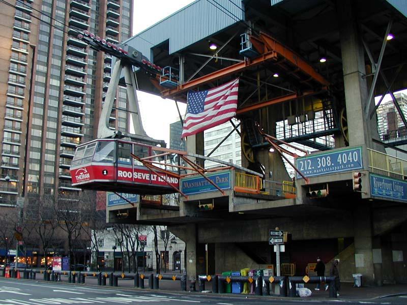 Tram To Roosevelt Island New York