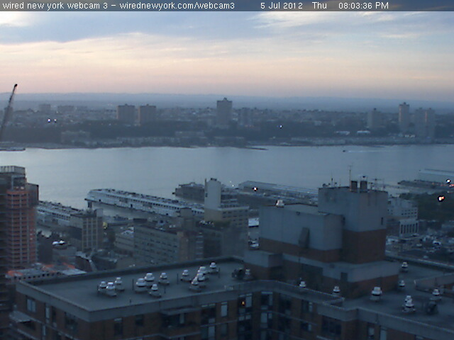 Webcam New York - Hudson river 2